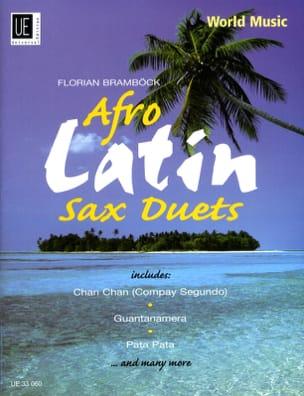 Afro Latin Sax Duets Partition Saxophone - laflutedepan
