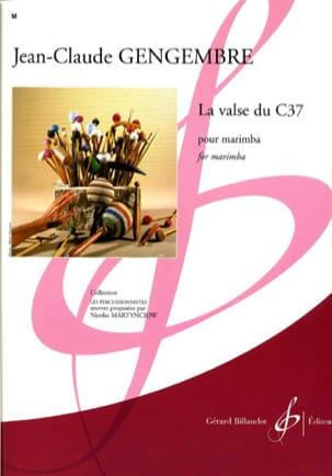 La Valse du C37 Jean-Claude Gengembre Partition Marimba - laflutedepan