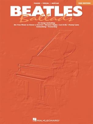 BEATLES - Beatles ballads - 2nd Edition - Partition - di-arezzo.com