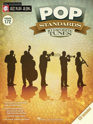 Jazz play-along volume 172 - Pop standards Partition laflutedepan