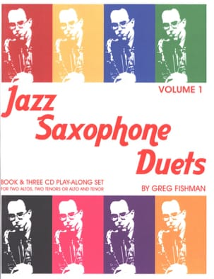 Jazz Saxophone Duets - Volume 1 Greg Fishman Partition laflutedepan