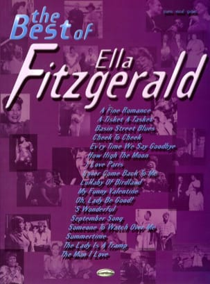 The Best Of Ella Fitzgerald Ella Fitzgerald Partition laflutedepan