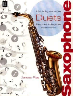 Introducing Saxophone Duets - James Rae - Partition - laflutedepan.com