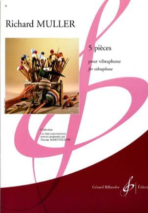 5 Pièces Richard Muller Partition Vibraphone - laflutedepan