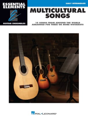 Multicultural Songs - 14 Songs arranged for three or more guitarists laflutedepan