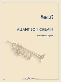 Allant Son Chemin Marc Lys Partition Trompette - laflutedepan