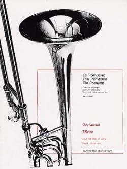 T-Bone Guy Lacour Partition Trombone - laflutedepan