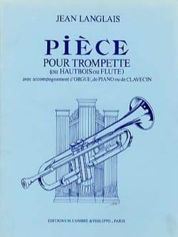 Pièces Jean Langlais Partition Trompette - laflutedepan