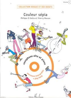 Couleur Sépia Di Betta Philippe / Masson Thierry laflutedepan