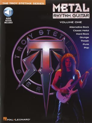 Metal Rhythm Guitar Volume One Troy Stetina Partition laflutedepan
