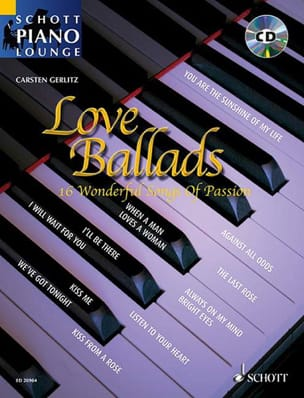 Love ballads - 16 Wonderful Songs of Passion Partition laflutedepan