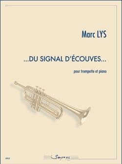 …Du Signal d'Ecouves… Marc Lys Partition Trompette - laflutedepan