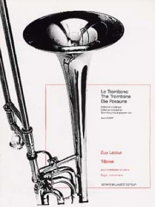 T-Bone - Guy Lacour - Partition - Trombone - laflutedepan.com
