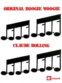 Original Boogie Woogie Claude Bolling Partition Jazz - laflutedepan