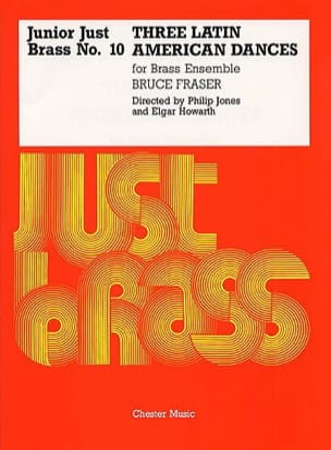 3 Latin American Dances - Junior Just Brass N° 10 laflutedepan