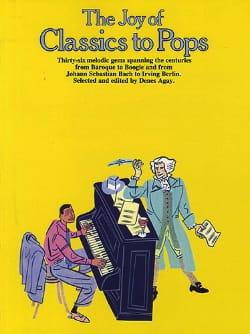 The joy of classics to pops Partition Pop / Rock - laflutedepan