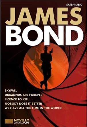 Novello Choral Pops - James Bond Partition Chœur - laflutedepan