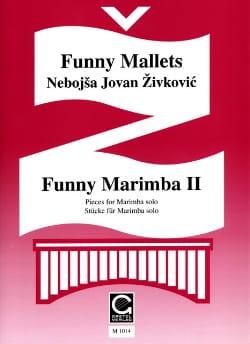 Funny Marimba Volume 2 Nebojsa jovan Zivkovic Partition laflutedepan