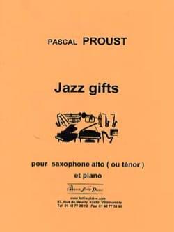Jazz gifts Pascal Proust Partition Saxophone - laflutedepan