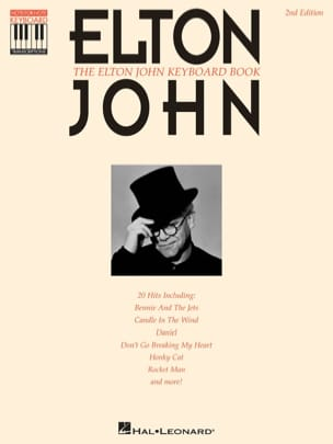 Elton John - The Elton John keyboard book recorded version - Partition - di-arezzo.fr