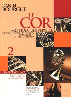 Le Cor Méthode Universelle Volume 2 Daniel Bourgue laflutedepan