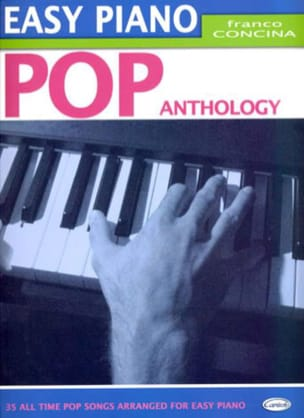 Easy Piano Pop Anthology Partition Pop / Rock - laflutedepan