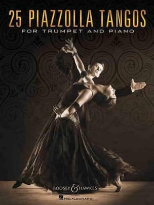 25 Piazzolla Tangos for Trumpet and Piano Astor Piazzolla laflutedepan