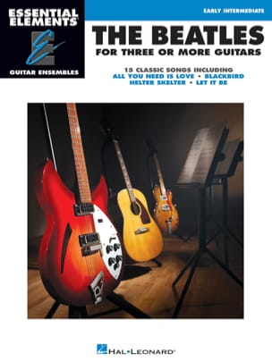 The Beatles for 3 or More Guitars BEATLES Partition laflutedepan