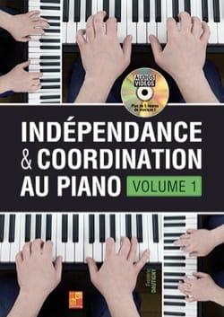 Indépendance & Coordination au Piano - Volume 1 laflutedepan