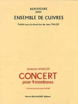 Concert VIVALDI Partition Trombone - laflutedepan