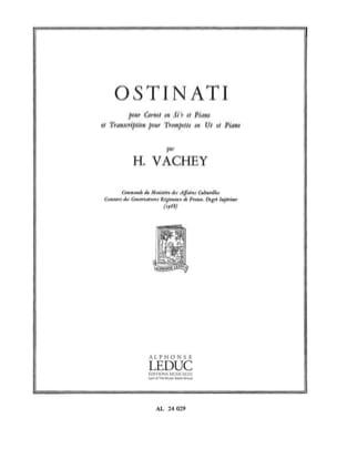 Ostinati Henri Vachey Partition Trompette - laflutedepan