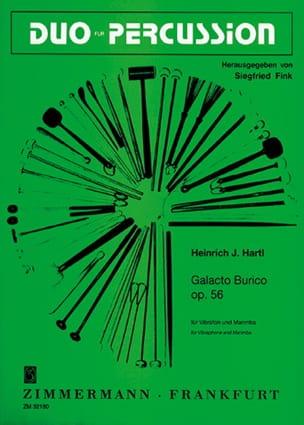 Galacto Burico Opus 56 - Heinrich Hartl - Partition - laflutedepan.com