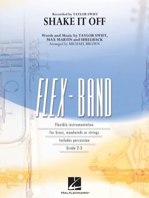 Shake It Off - FlexBand Swift Taylor Partition laflutedepan