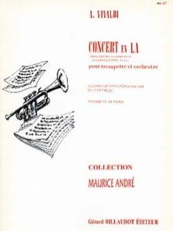 Concert en LA RV 43 VIVALDI Partition Trompette - laflutedepan