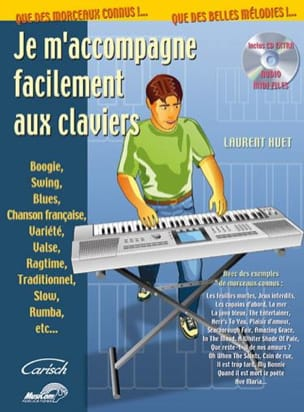 Je m'accompagne facilement aux claviers Laurent Huet laflutedepan