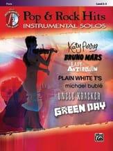 Pop & Rock hits - Instrumental solos Partition laflutedepan