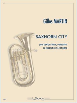 Saxhorn City Gilles Martin Partition Tuba - laflutedepan