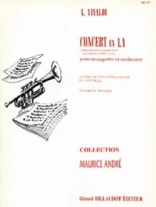 Concert en LA RV 43 - VIVALDI - Partition - laflutedepan.com