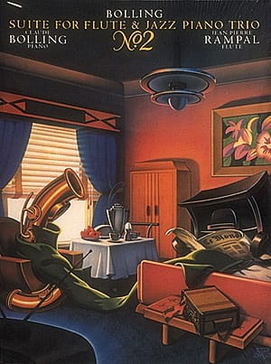Suite N° 2 For Flute And Jazz Piano Trio - laflutedepan.com