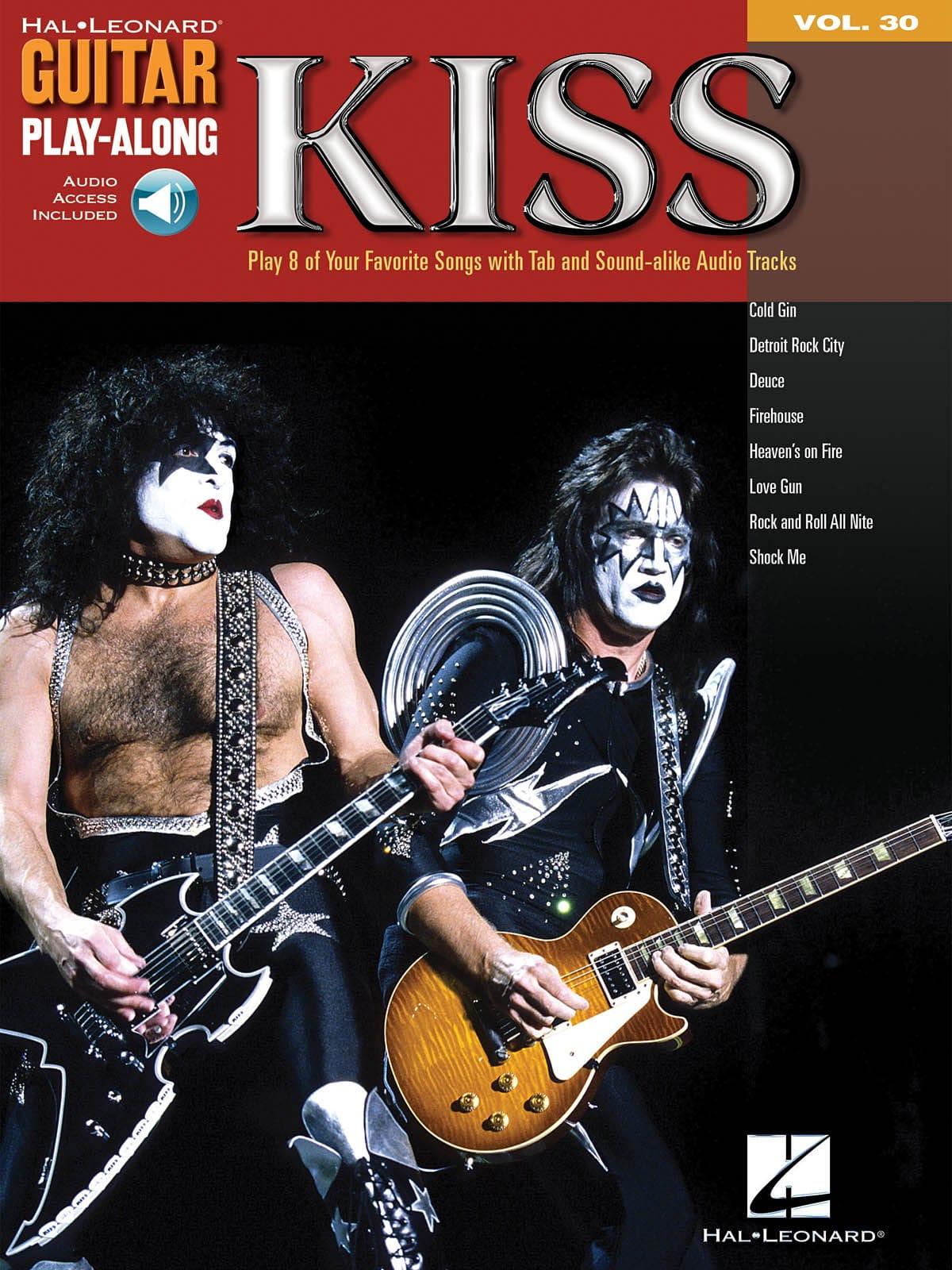 Guitar Play-Along Volume 30 - Kiss - Kiss - laflutedepan.com