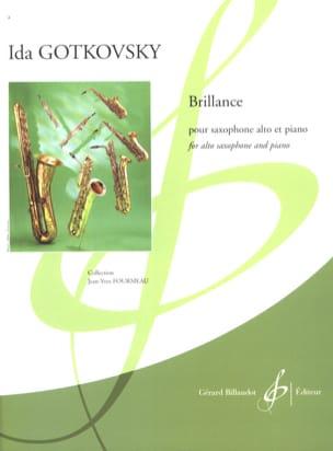 Brillance Ida Gotkovsky Partition Saxophone - laflutedepan