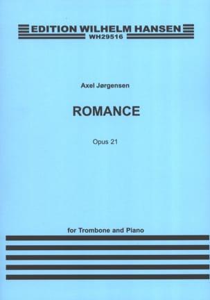 Romance Opus 21 Axel Jorgensen Partition Trombone - laflutedepan