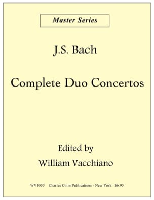 Duo Concerto In C Major BWV 1053 BACH Partition laflutedepan
