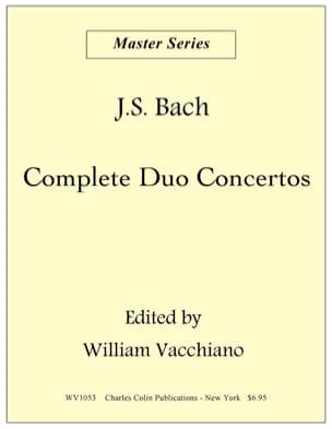 Duo Concerto In C Major BWV 1053 BACH Partition laflutedepan