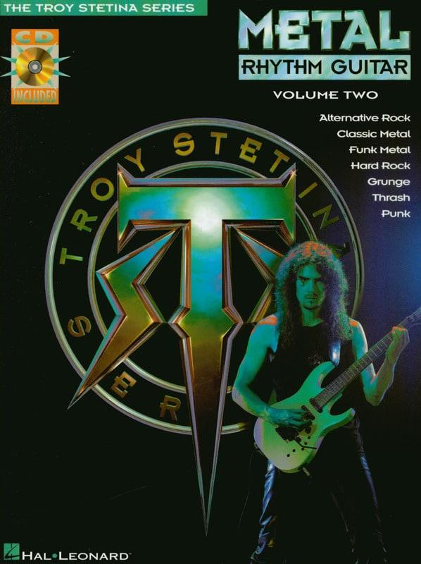 Metal Rhythm Guitar Volume Two - Troy Stetina - laflutedepan.com