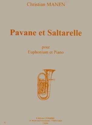 Pavane Et Saltarelle - Christian Manen - Partition - laflutedepan.com