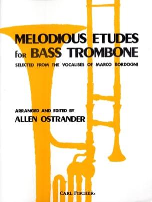 Melodious Etudes For Bass Trombone Allen Ostrander laflutedepan