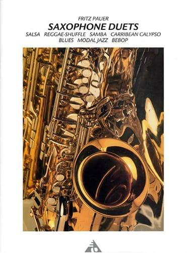 Saxophone Duets - Fritz Pauer - Partition - laflutedepan.com
