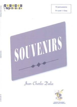 Souvenirs - Jean-Charles Dalia - Partition - laflutedepan.com