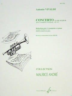 Concerto En Do Majeur VIVALDI Partition Trompette - laflutedepan